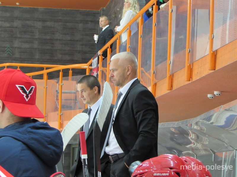 Дмитрий Бойцов присутствует на всех домашних играх команды