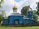 Церковь Воскресения Христова в деревне Ольманы после замены куполов