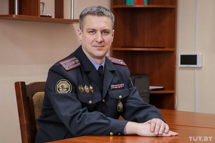 Сергей Бабич – новый начальник ГАИ Минска. Фото tut.by
