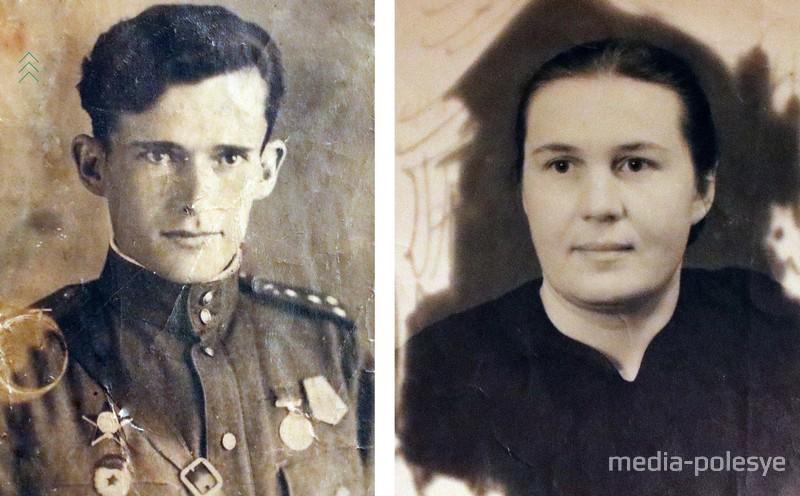 Николай и Мария в молодости