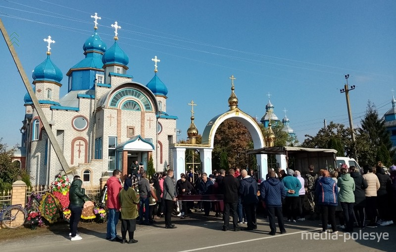 Матушку похоронили на родине – в Рубле Столинского района