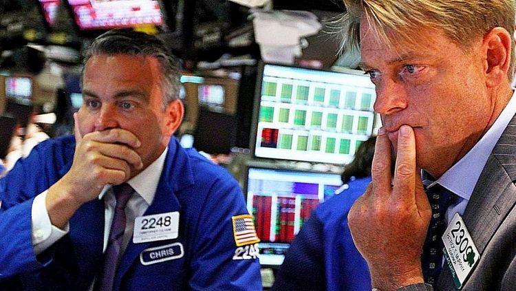 Падение фондового рынка. Фото 365daily