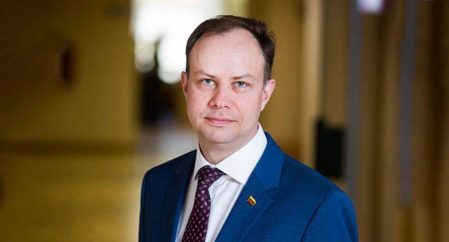 Министр здравоохранения Литвы Аурелиюс Верига. Фото: sputniknews.lt