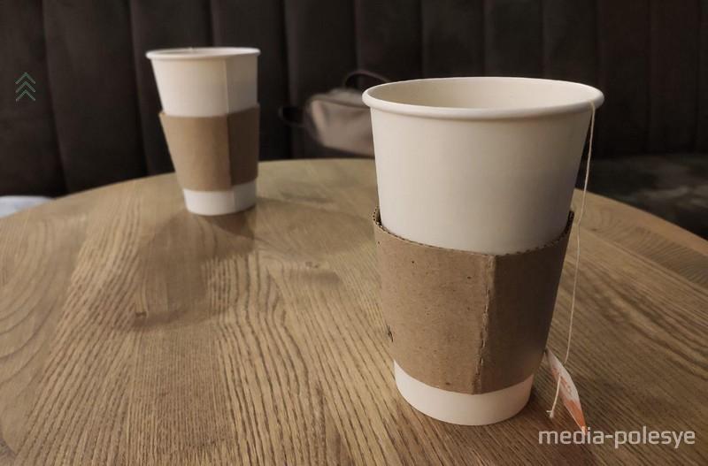 «Параграф» заменил чашки на одноразовые стаканы