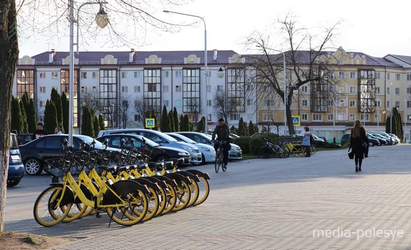 На велосипедах умный замок