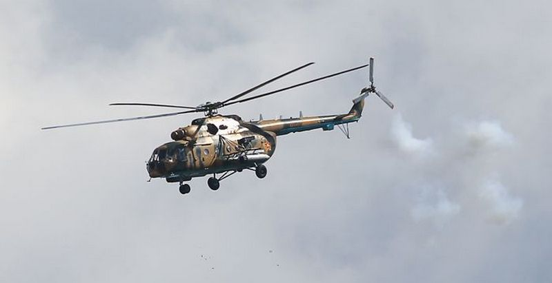 Снимок носит иллюстративный характер / Военно-транспортный вертолет Ми-8. Фото: Александр Рюмин/ТАСС
