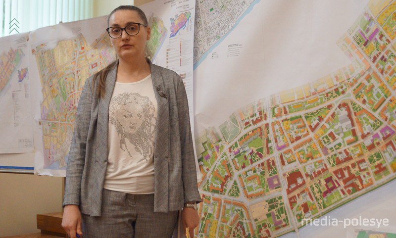 Презентовала проект его автор Антонина Вербицкая