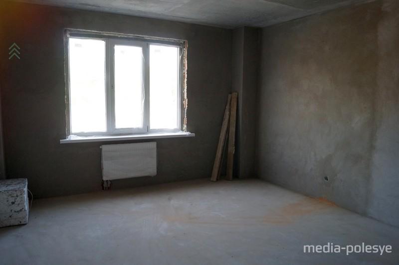 Квартиры в доме светлые. Даже на первом этаже достаточно света