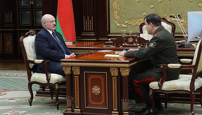 Александр Лукашенко и Валерий Вакульчик. Фото пресс-службы президента