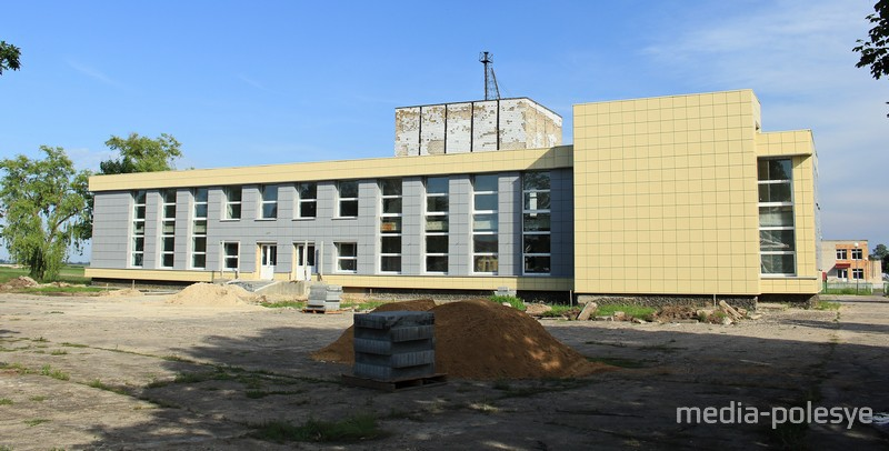 Дом культуры на реконструкции