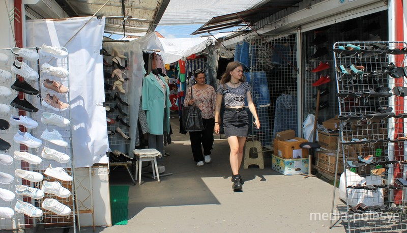 Останемся без одежды и обуви? Как живёт рынок в Пинске в условиях пандемии