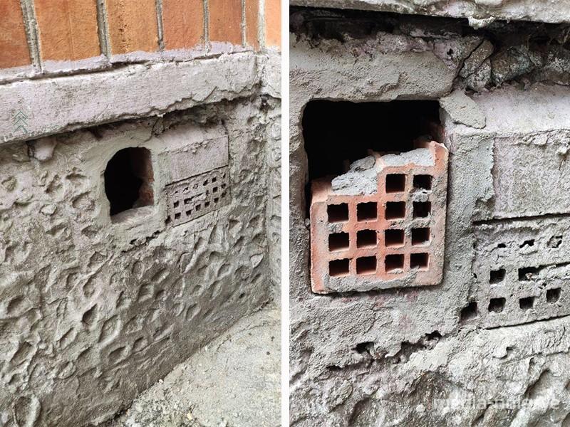 Фотографии вентиляционных отверстий в домах до и после ремонта
