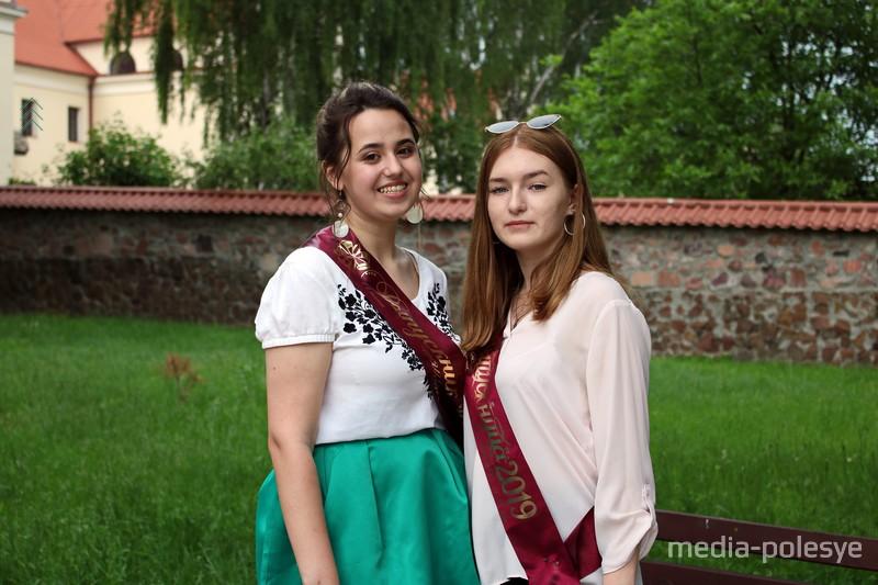 Ангелина Безручко и Валерия Матарас