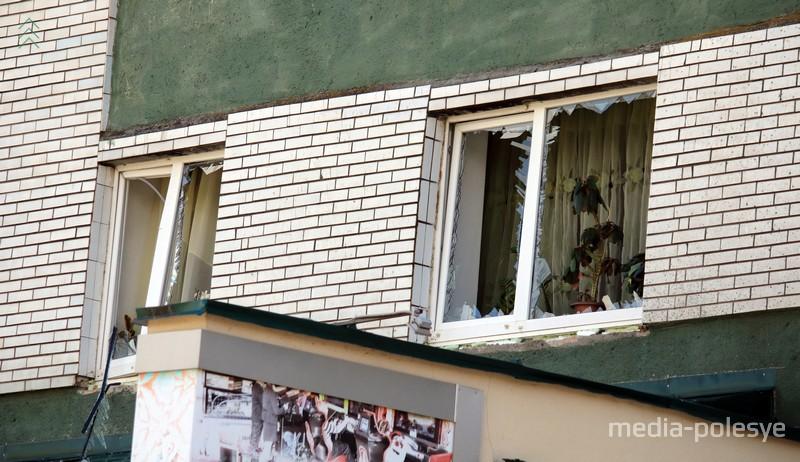 В Пинске прямо над детским кафе произошёл взрыв