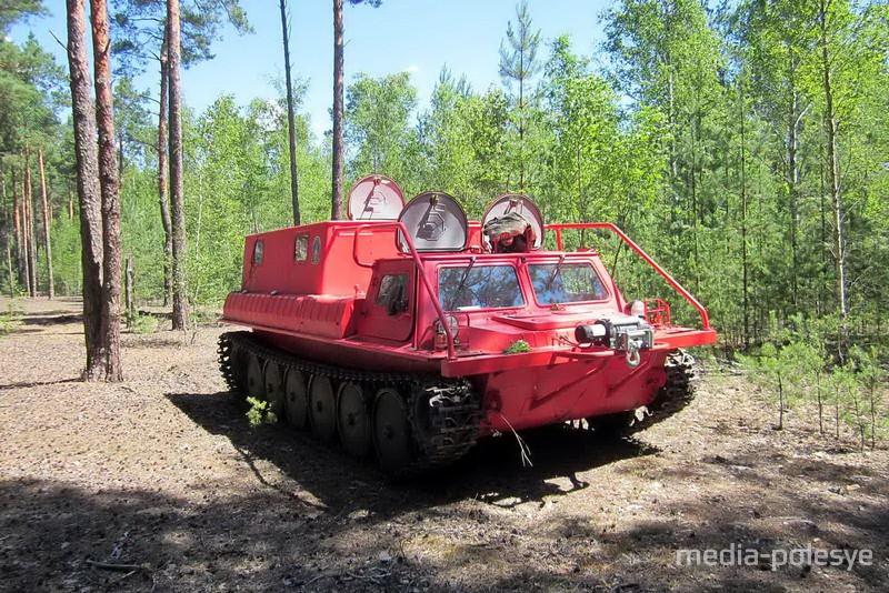 Вездеход Полеского лесхоза