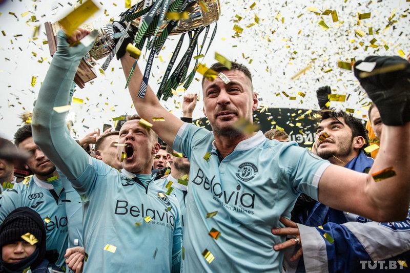 Брестское «Динамо» — чемпион Беларуси-2019. вскоре команда дебютирует в отборочном турнире к Лиге чемпионов