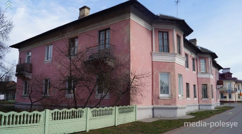Дом №38 на улице Брестской в феврале 2020