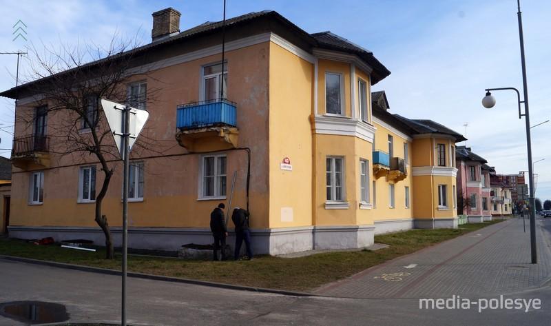 Дом №40 на улице Брестской в феврале 2020