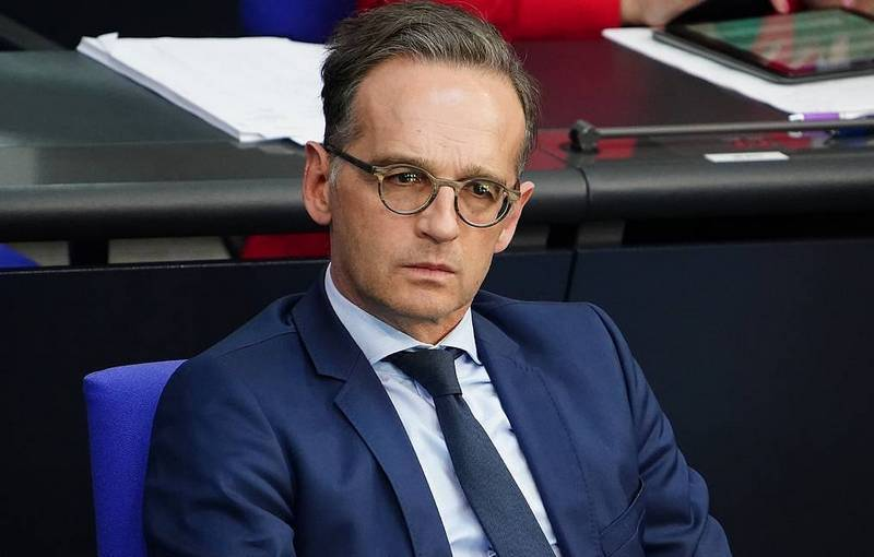 Министр иностранных дел Германии Хайко Маас. Фото: © EPA-EFE/CLEMENS BILAN