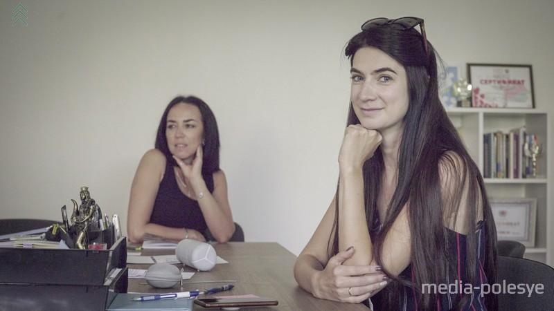 Создатели центра (слева направо) Наталья Шарикало, Екатерина Лебедь-Великанова