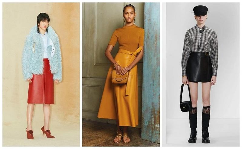 Burberry, Oscar de la Renta, Christian Dior