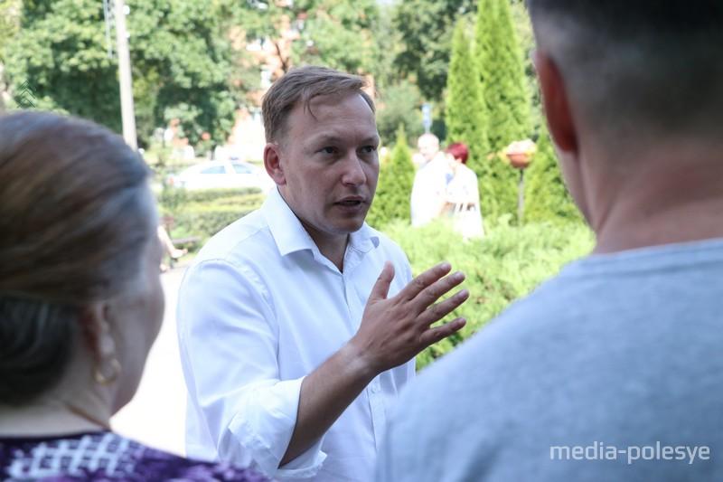 Андрей Дмитриев в Пинске. Фото иллюстрационное