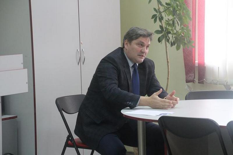 Павел Сухоруков, главный редактор «Звязды». Фото: brsu.by