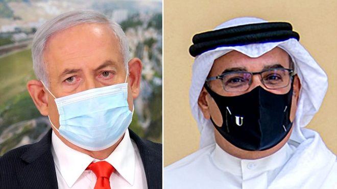 Премьер-министр Израилья Нетаньяху и наследный принц Бахрейна Салман ибн Хамад Аль Халифа / Reuters