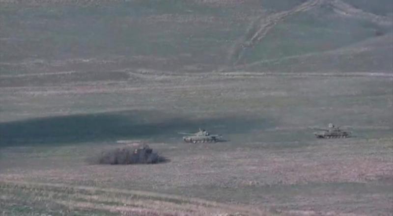 Нагорный Карабах 27 сентября / фото REUTERS