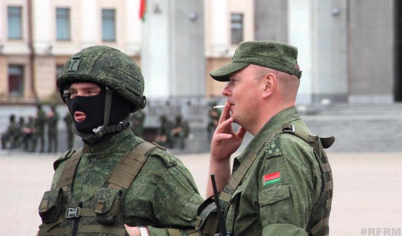 Командир 120‑й отдельной гвардейской механизированной бригады гвардии полковник Павел Шебеко. Фото: Reform.by