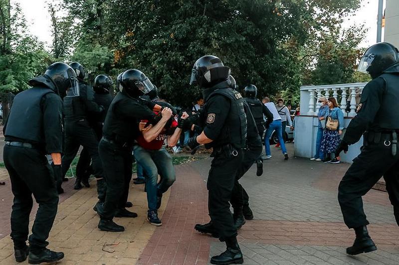 Брест, 20 сентября 2020 года. Фото: Олег Полищук