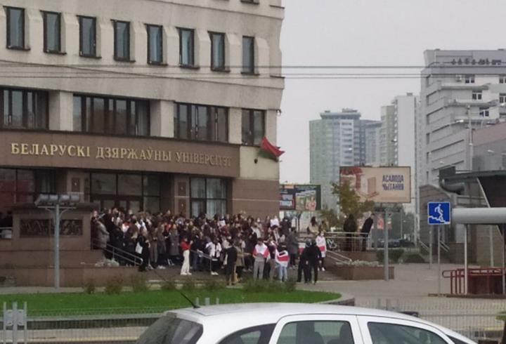 Факультет журналистики БГУ / TUT.BY 26.10.2020, 11:30