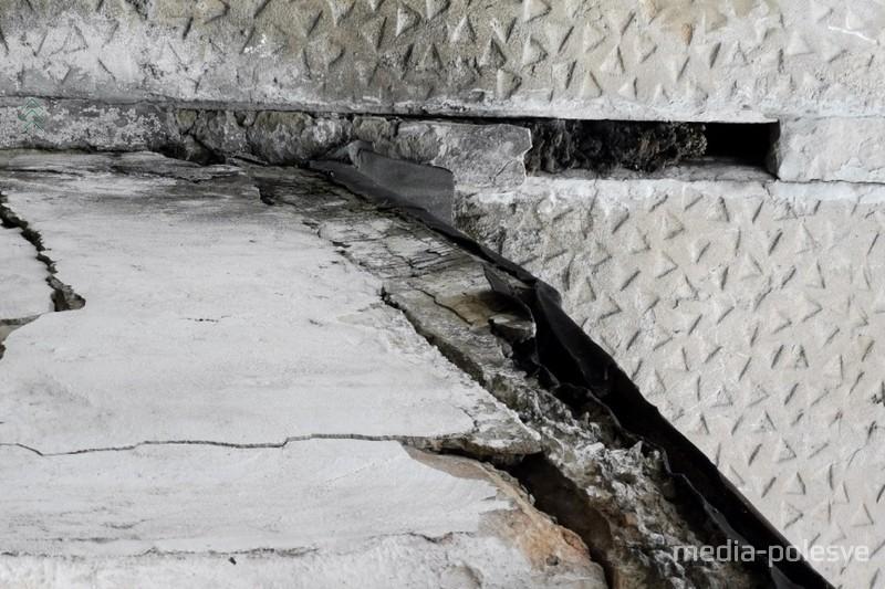 Печка на стыке с потолком