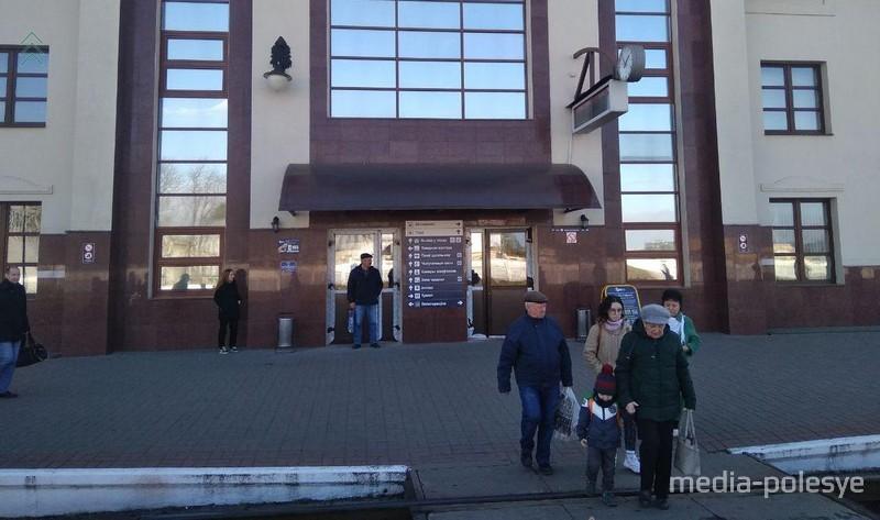 На разрешение ситуации с «минированием» Пинского железнодорожного вокзала потребовалось около двух часов