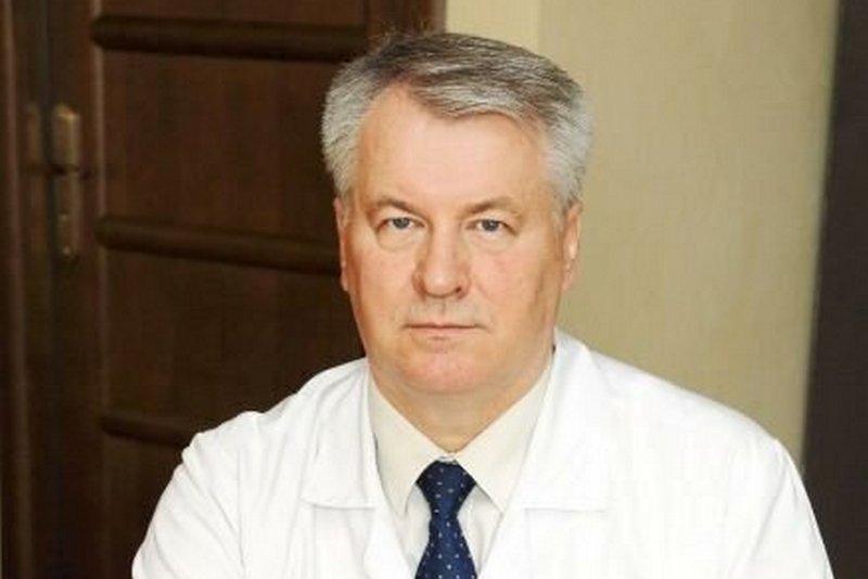 Бывший ректор Гродненского медицинского университета Виктор Снежицкий. Фото: сайт Гродненского областного клинического кардиологического центра
