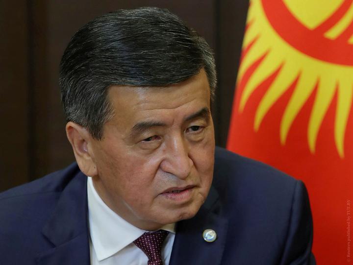 Президент Кыргызской Республики Сооронбай Жээнбеков / Фото: Reuters