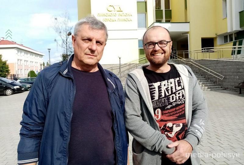 Виктор Ярошук и Андрей Якимуш
