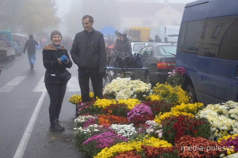 Цветы из Дребска