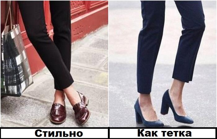 Вместо традиционных туфлей можно надеть лоферы в мужском стиле / Фото: novate.ru