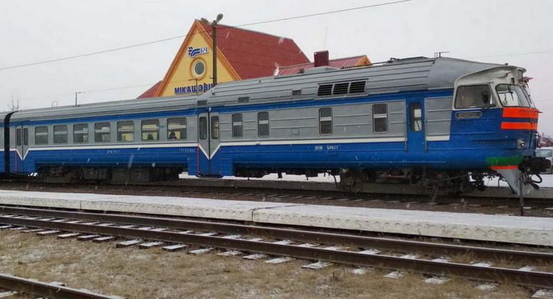 Фото из архива ж/д станции Микашевичи