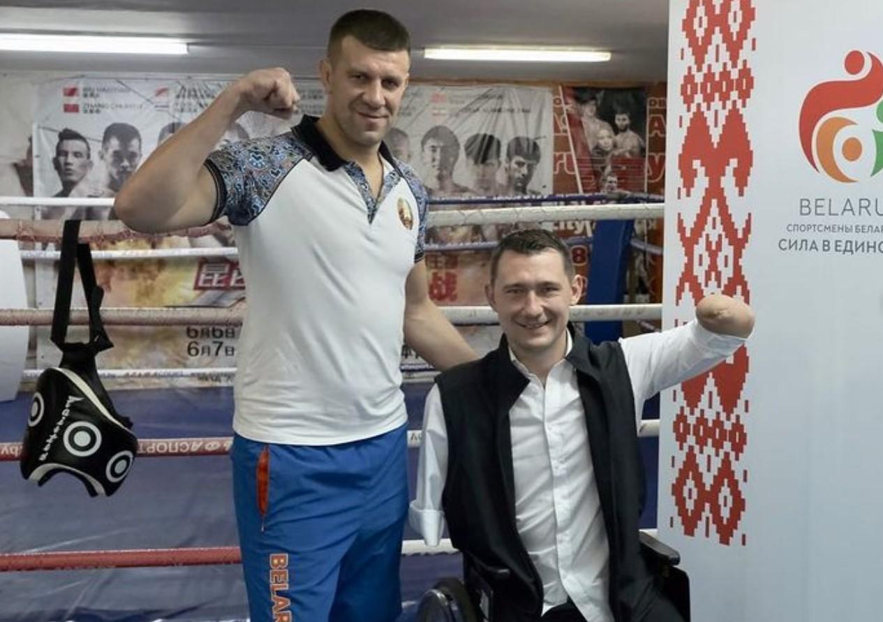 Дмитрий Шакута и Алексей Талай. Фото @shock__gym