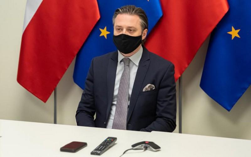 Вице-министр внутренних дел Бартош Гродецкий / Фото: gov.pl/web/mswia