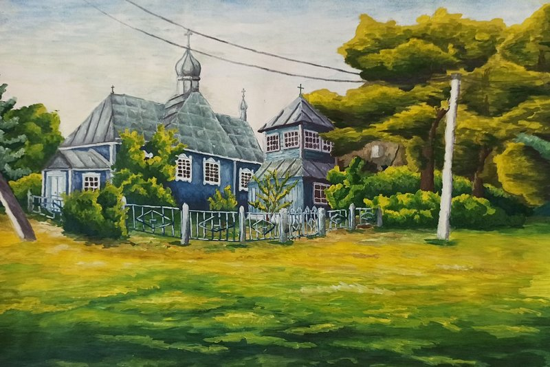 «Церковь в деревне Месятичи» planetabelarus.by