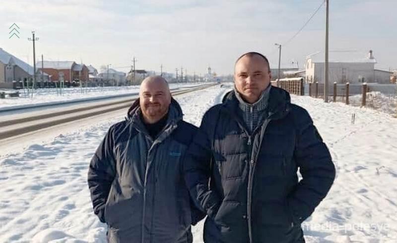 Сергей Черненко и Геннадий Трухнов. Фото из личного архива Геннадия Трухнова