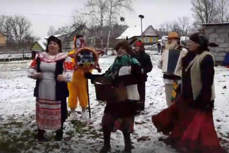 Скриншот видео из группы Культура Пинщины