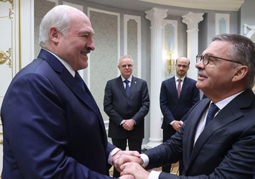 Встреча с Фазелем / Фото: пресс-служба Лукашенко