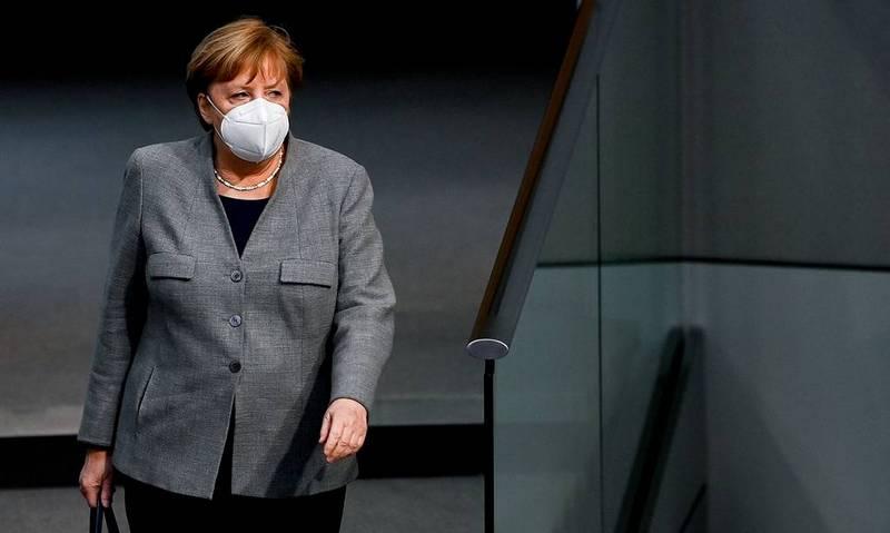 Канцлер Германии Ангела Меркель © EPA-EFE/FILIP SINGER