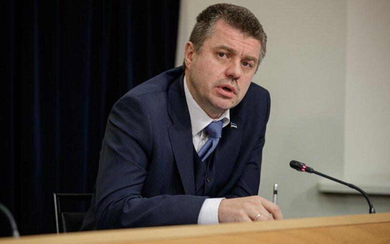 Министр иностранных дел Эстонии Урмас Рейнсалу / Фото: Anette Parksepp