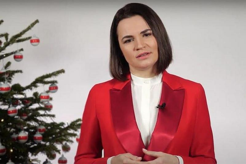 Кадр: Youtube-канал Светланы Тихановской