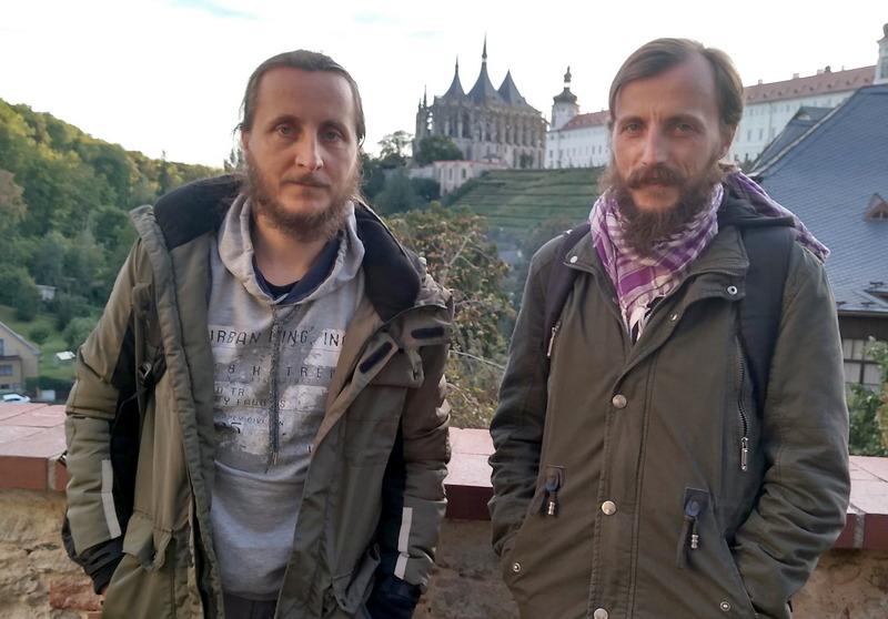 Андрей и Роман в Чехии